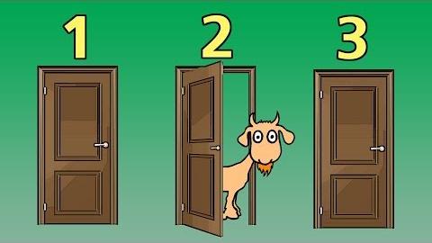 Vous êtes dans un jeu télévisé. Il y a devant vous 3 portes. Derrière l'une d'elle se trouve 1 million de dollars. Vous devez choisir une porte. Une fois fait, l'animateur, élimine une des deux portes restantes, cependant, il n'éliminera jamais la porte avec 1 million de dollars. Une fois fait, il vous demande si vous désirez garder la porte que vous avez sélectionner au début ou si vous désirer changer de porte pour celle n'ayant pas été éliminé. Quelle est la probabilité de remporter le million de dollars en changeant de porte?